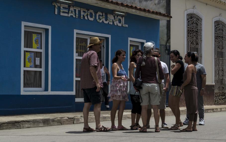 El Teatro Rabidranath Tagore de Remedios